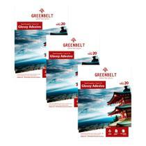 Kit 3 Pacotes de 20 folhas Papel Fotográfico Glossy Adesivo A4 115g Greenbelt -