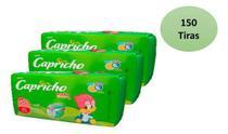 Kit 3 Pacotes Fralda Capricho Pica Pau Atacado Barato -