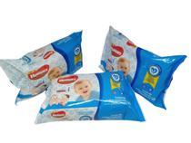 Kit 3 pacotes toalha lenço umedecido Huggies Mônica 288 unid -