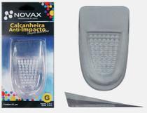Kit 3 pares - Calcanheira - Gel - Anatômica Ortopédica - Anti Impacto - Novax