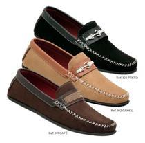 Kit 3 Pares Sapato Sapatilha Mocassim Masculino Conforto Flex Wshoes -