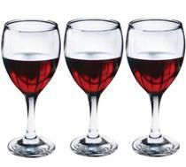 Kit 3 Peça Taça para Vinho Imperial 240 ml - Fratelli -