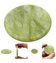 Kit 3 Pedra Jade Para Resfriar Cola Extensão Alongamento De Cílios - Zem