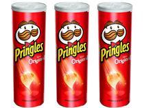 Kit 3 Pringles Salgadinho de Batata Sabor Original 114g -