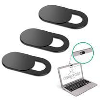 Kit 3 Protetores Tampas Webcam Anti Espião Notebook Premium - CasaDoceCasa
