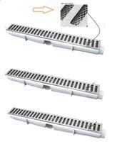 Kit 3 Ralo Linear Grelha Aluminio 06x50 Com Tela Anti-inseto - Sacheto