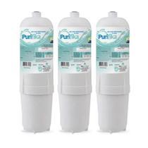 Kit 3 Refil Filtro Purificador Água Soft Everest Slim Fit Baby Star Flat Plus - Policarbon