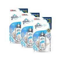 Kit 3 Refil Odorizador Glade Toque de Maciez 12ml -