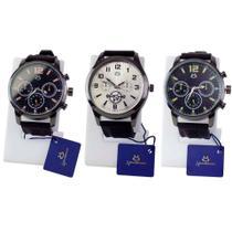 Kit 3 Relógios Orizom Masculinos Analógicos - Orizom Tecnologies