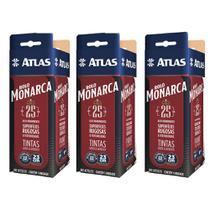 Kit 3 Rolo Atlas C/ Manta De 25mm De Altura-pintura Em Geral -