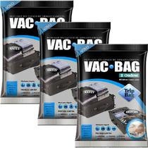 Kit 3 Sacos À Vácuo VAC BAG TRIP BAG 60X40 Ordene -