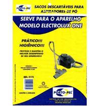 Kit 3 Sacos de Aspirador de Pó Descartáveis Electrolux One Ref: 2175 - Porto Pel