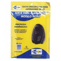 Kit 3 Sacos Descartável Para Aspirador de Pó Arno Nitro Ref: 2174 - porto-pel