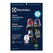 kit 3 Sacos para Aspiradores: Clario, Classic Silencer, Jetmaxx, Ultrasilencer, Ultraone, Equipt - Electrolux