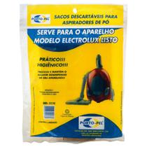 Kit 3 Sacos Para Aspiradores de Pó Electrolux Listo Ref: 2178 - Porto-Pel
