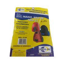 Kit 3 Sacos Para Aspiradores de Pó Electrolux Nano Ref: 2199 - Porto-Pel