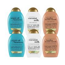 Kit 3 Shampoo+ 3 Condicionador OGX Argan Oil of Morocco -