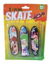 Kit 3 Skate De Dedo - X-Treme