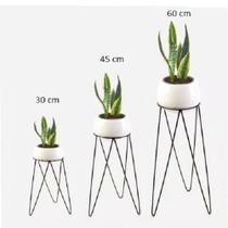 Kit 3 suporte para vasos de plantas - Mestre Moveleiro