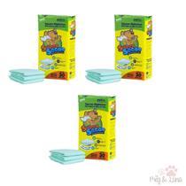 Kit 3 Tapete higienico Super Secão 30 Un 80 x 60cm= 90 Tapetes - Petix