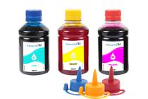 Kit 3 Tintas para Epson EcoTank L4150 250ml Inova Ink