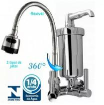 Kit 3 Torneira Gourmet Parede GPA + Torneira Banheiro 2190 + Torneira Maquina Lavar 1428 - Brasil