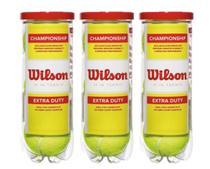 Kit 3 Tubos de Bolas de Tênis Championship - Wilson -