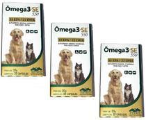 Kit 3 Unidades Omega 3 SE 550 (30 Capsulas) - VETNIL -