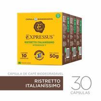 Kit 30 Cápsulas De Café Expressus Ristretto Italianíssimo -