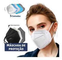 Kit 30 Máscaras Kn95 Proteção 5 Camada Respiratória Pff2 N95 - Ailia