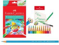 Kit 3cx lapis de cor c/36 cores aquarelavel faber castell - 120236 - Faber-Castell