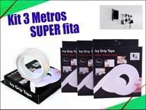 Kit 3Fitas Magica Super Forte Lavável Dupla Face 1 Mt cada - m&c