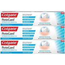 Kit 3x Creme Dental Colgate PerioGard 90g -