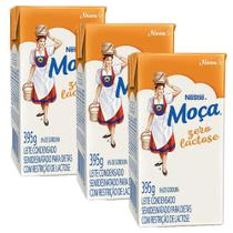 Kit 3x Leite Condensado Zero Lactose Moça Nestlé -