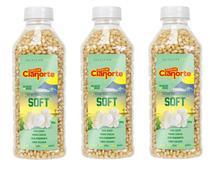 Kit 3x Milho Para Pipoca Tipo Soft - 685g - Pipoca + Suave - Cianorte