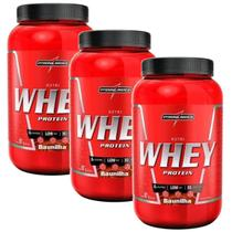 Kit 3X Nutri Whey Protein - 907g Baunilha - IntegralMédica - Integral Médica