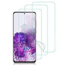Kit 3x Películas Gel para Samsung Galaxy S20 Ultra + Kit Aplicação - Encapar