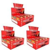 Kit 3x Protein Crisp 45g Caixa C/ 12 Integralmédica -