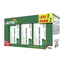 Kit 3x30 Lavitan Cabelos e Unhas (90 Cápsulas) -