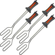 Kit 4 Acendedor Elétrico para Churrasqueiras a Carvão e Lareiras 750W 220V Cotherm AC 500 1072 Inox -
