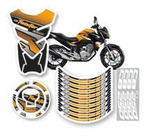 Kit 4 Adesivo Cb 250 Twister 2019 2020 Tanque Bocal Roda Aro - Prime