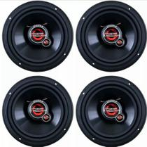 Kit 4 Alto Falantes 5 Polegadas Triaxial 200w Rms Total - Unlike -