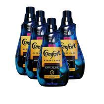 Kit 4 Amaciantes de Roupa Comfort Concentrado Anti-Aging Hydra Sérum Expert Care 1l -