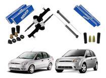 Kit 4 Amortecedor Original Nakata Fiesta Hatch Sedan 2003 2004 2005 2006 2007 2008 2009 2010 2011 2012 -
