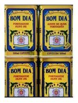 Kit 4 Azeite De Oliva Bom Dia Lata Português (LISBOA) 4 x 500ml - Mirazeite