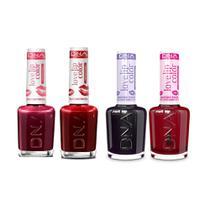 Kit 4 Batons Tinta Love Cherry, Red, Uva e Pitaya DNA - 10ml -