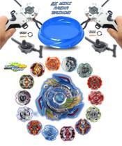 Kit 4 Beyblade Burst + 4 Lançadores Ganhe 2 Mini Arena Tornado Gyro - TD / Lianfa Toys