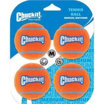 Kit 4 Bolas de Tênis M Chuck It e aquática - refil para lançador de bolas -