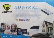 Kit 4 câmeras de segurança/HD NVR KIT - Jortan