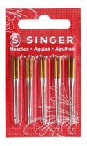 Kit 4 cartelas  de agulha singer malha n204516 c/ 10 -